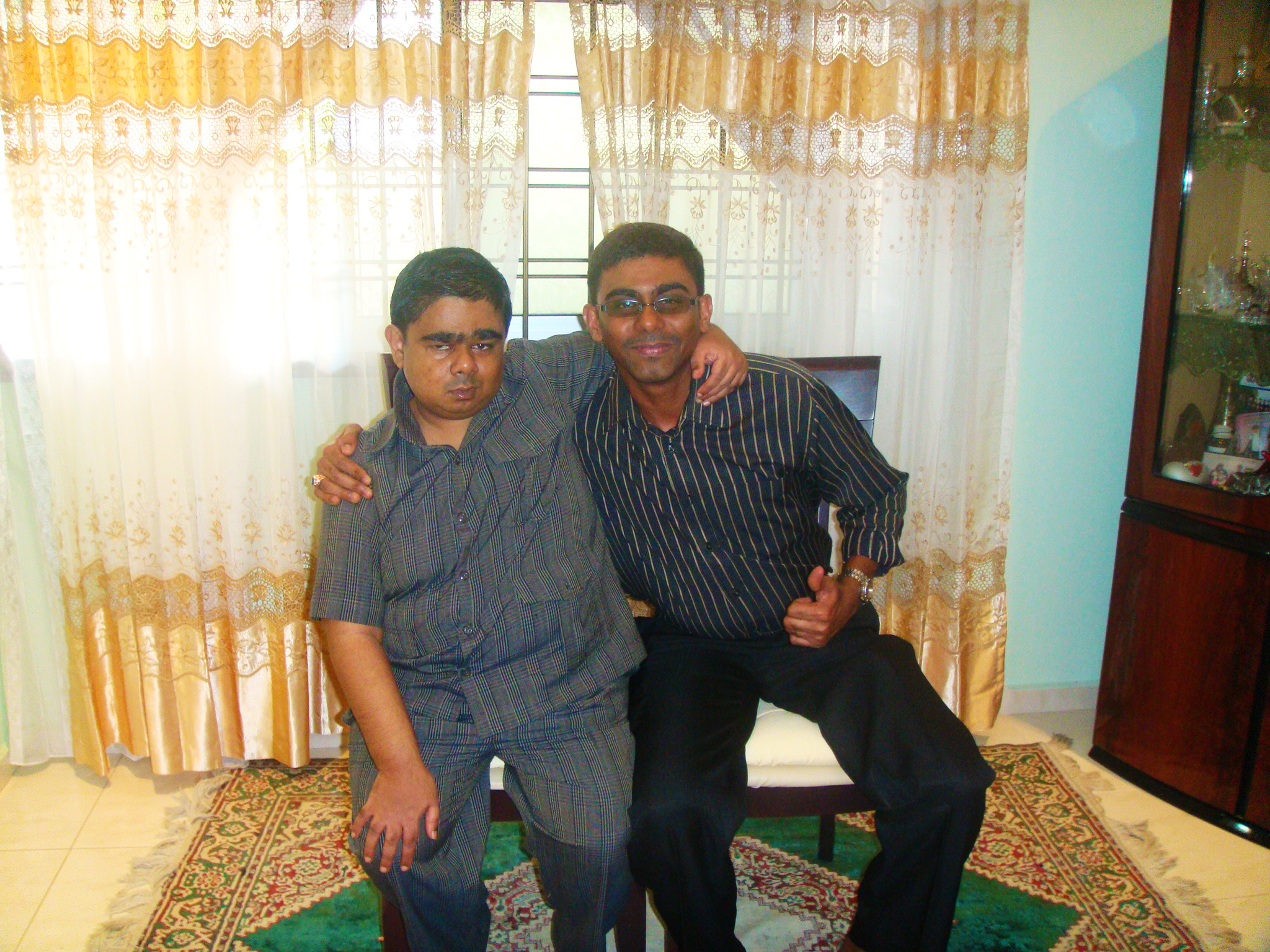 Arifeen and his uncle